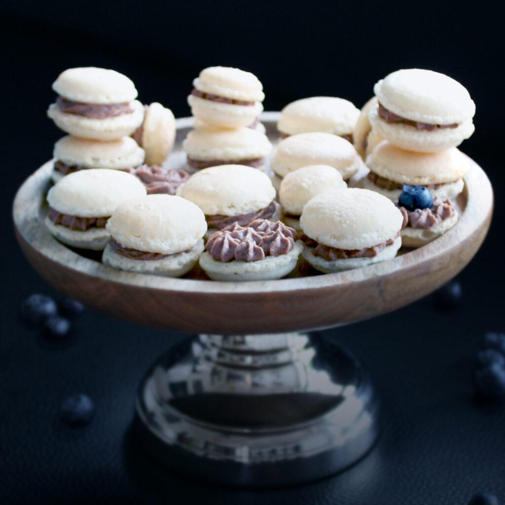 Macarons mit Ganache