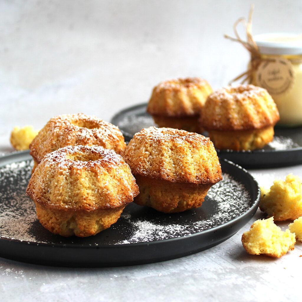 Titelbild Eierlikör Mini Kuchen